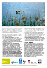 Natural Solutions flyer - last page with ImageNature photo